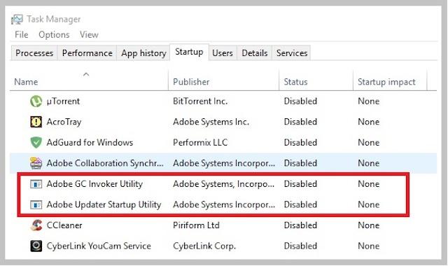 Adobe GC invoker