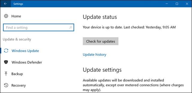 Always reset windows update service manually