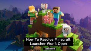 minecraft launcher won't open