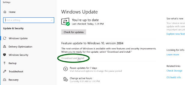 download and install windows updates
