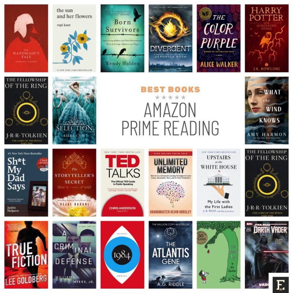 prime reading books