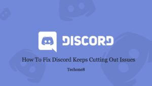 discord keeps cutting out