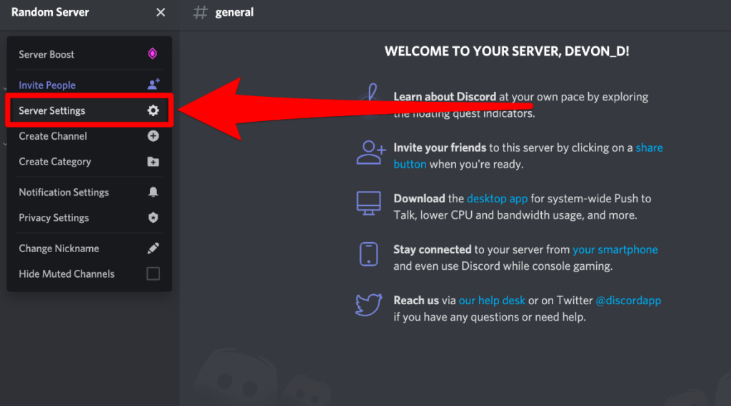 discord servers are up and running