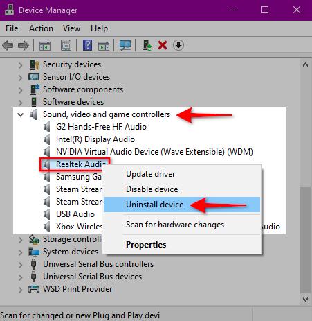 Remove audio hardware