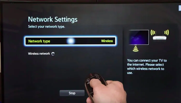 Restart the setup box of your TV