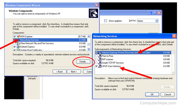 you have to enable the UPnP option