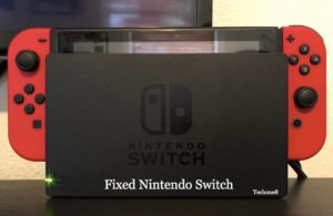 switch dock not working