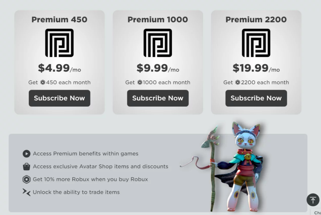 Robux and trade