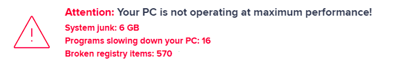 pc is not operating