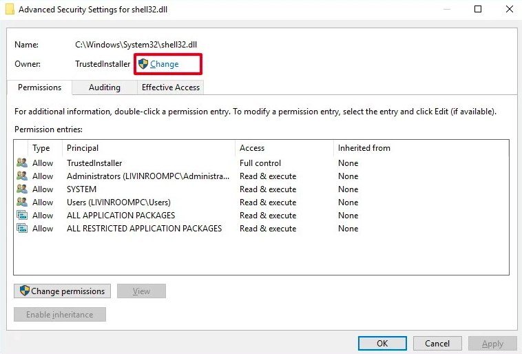 Set steam folder security to full control
