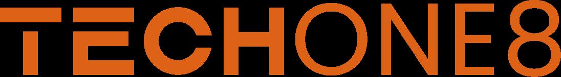 techone8 logo orange