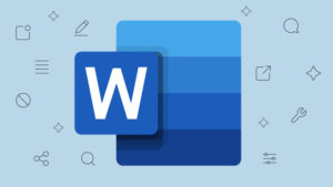 how to double space in word