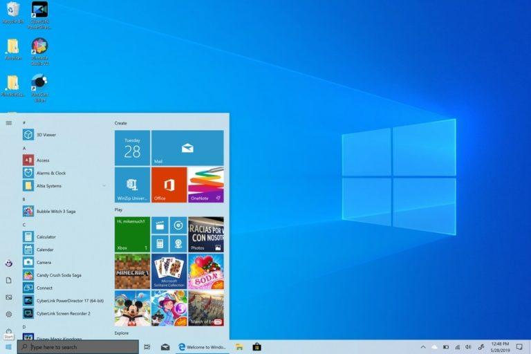 windows 10 start menu not working