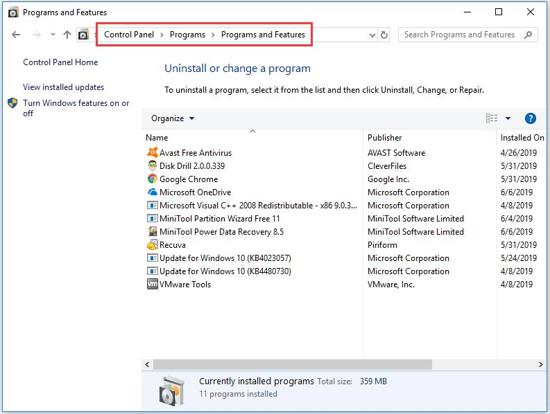 kernel data inpage error after windows 10 update