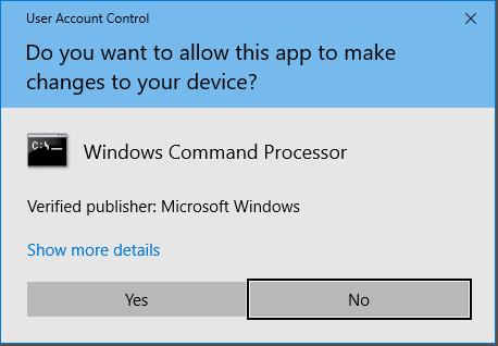 command prompt windows 10 shortcut