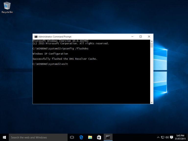 command prompt windows 10